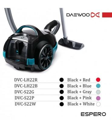 جاروبرقی 2100 وات دوو اسپرو مدل DVC-LH22B